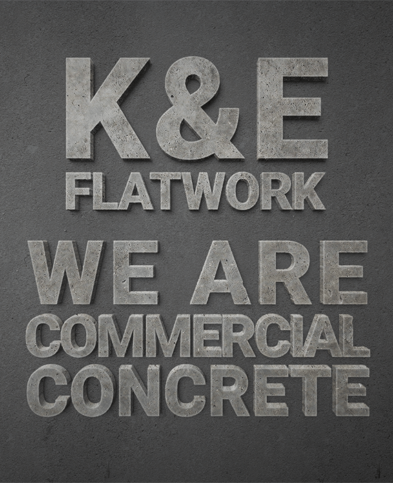 We are commercial concrete
