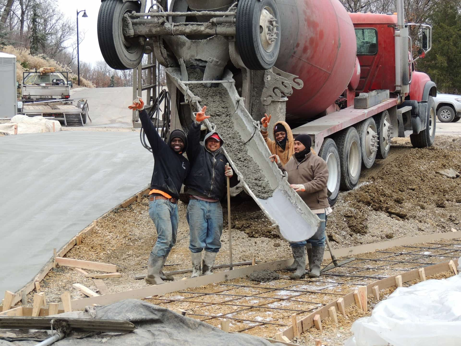 Concrete project gallery 5 commercial concrete contractor in kansas city | k&e flatwork