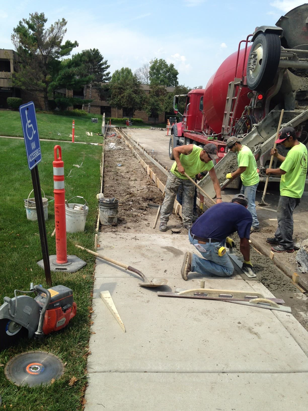Concrete project gallery 4 commercial concrete contractor in kansas city | k&e flatwork