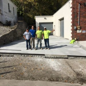 A Team Of Concrete Paving Contractors