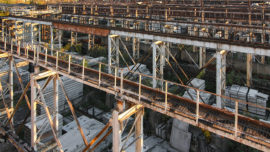 the-beams-and-supports-of-the-overhead-crane