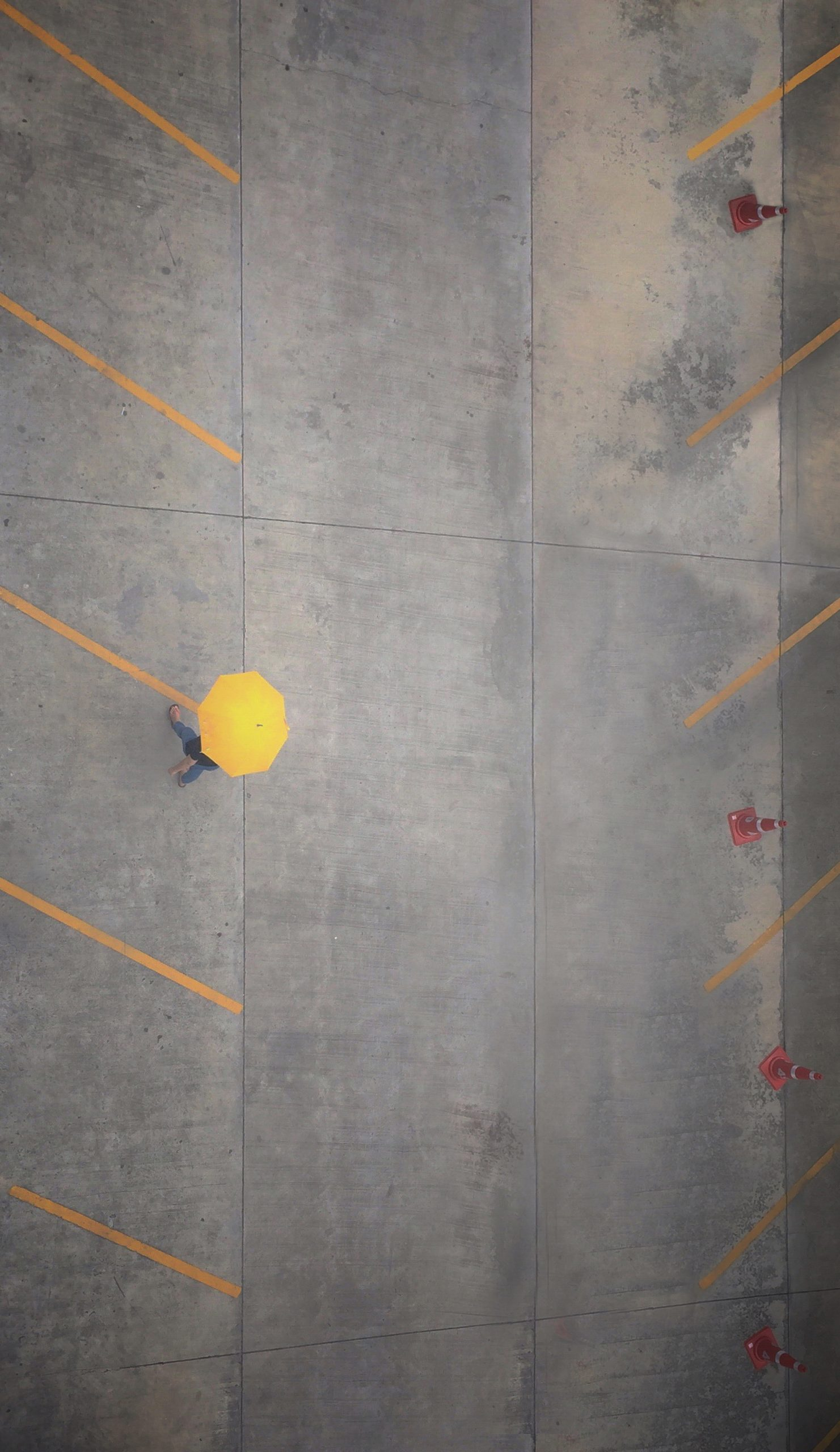 Concrete parking lots are very popular because of their durability and cost-effectiveness.