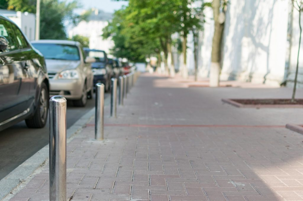 Sidewalk pavement